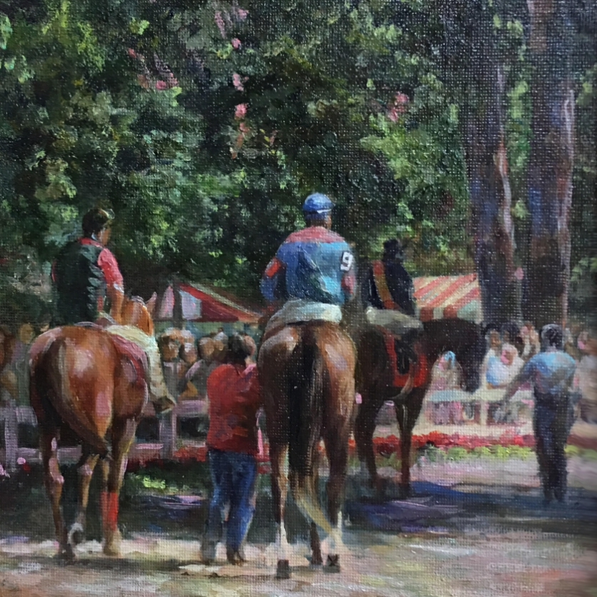 a horse painting