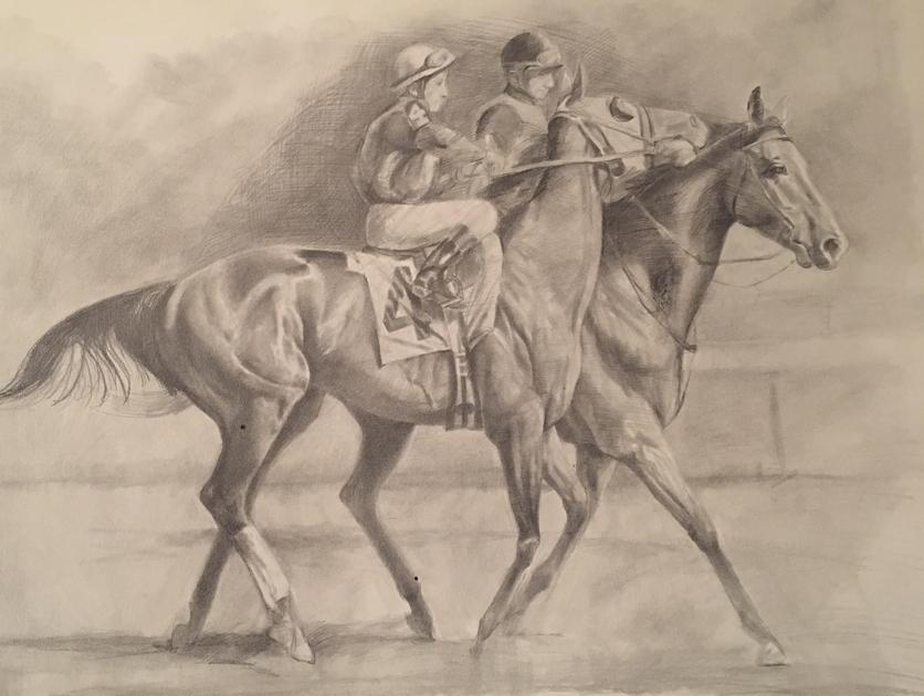 Pencil Horse 2