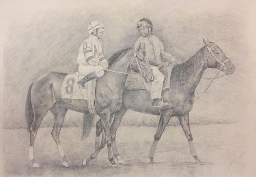 Pencil Horse